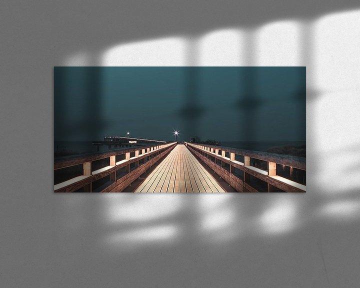 Sfeerimpressie: Heiligenhafen pier van Ursula Reins