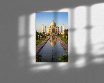 Taj Mahal, Agra in Indien von Jan Fritz