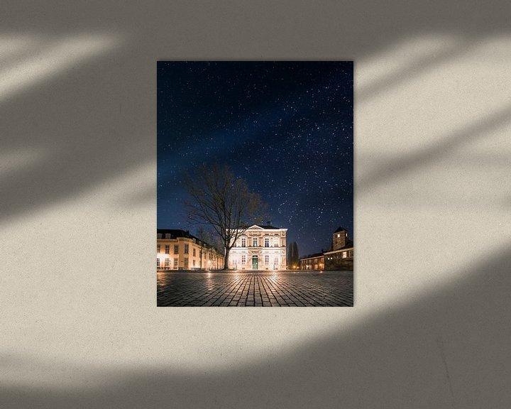 Sfeerimpressie: Sterrenhemel boven Het Kasteelplein - Breda van Joris Bax