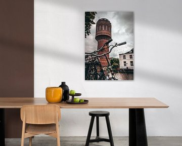 Wasserturm Rotsoord I von de Utregter Fotografie