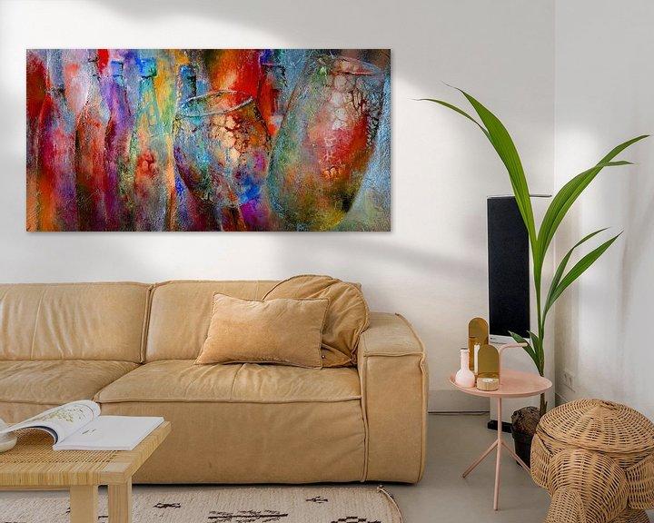 Sfeerimpressie: Kleurrijk van Annette Schmucker