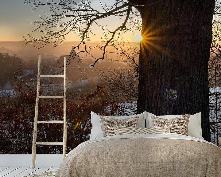 Beispiel fototapete: Goldenes Abendlicht 2 von Adriana Mueller