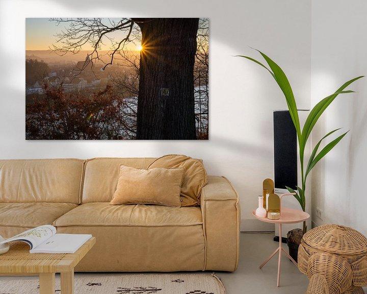 Beispiel: Goldenes Abendlicht 2 von Adriana Mueller
