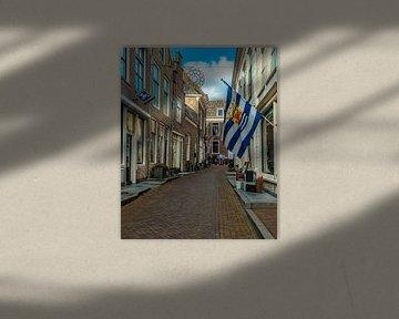 Vlag van Zeeland van Freddie de Roeck