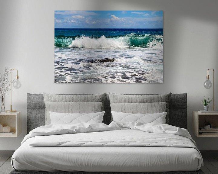 Beispiel: Wilde Ozeanwellen auf den Seychellen von MPfoto71