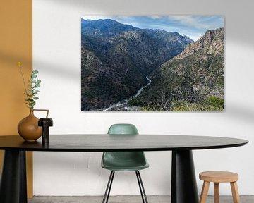 Die Schönheit des Kings Canyon Nationalparks in Amerika von Linda Schouw