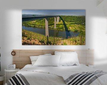 De Moseltalbrücke in Rijnland-Palts
