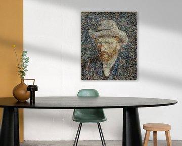 Mosaik Van Gogh von Atelier Liesjes