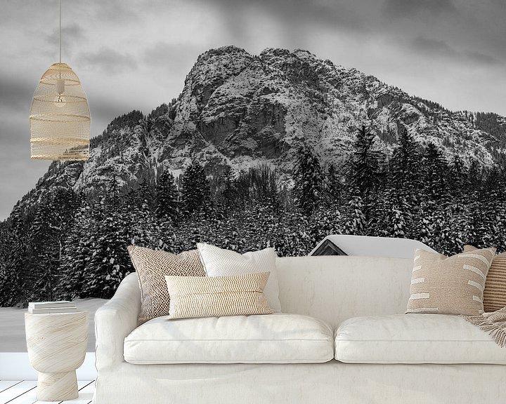 Beispiel fototapete: Winterstimmung in den Reschbergwiesen von Andreas Müller