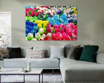 Houten Tulpen van Eduard Lamping