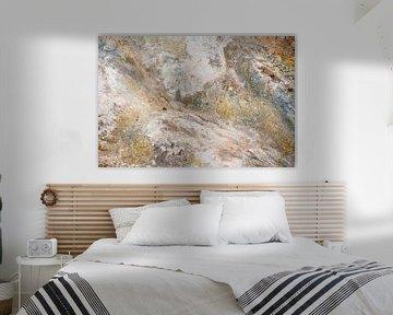 Mineraal abstract van Leendert Noordzij Photography