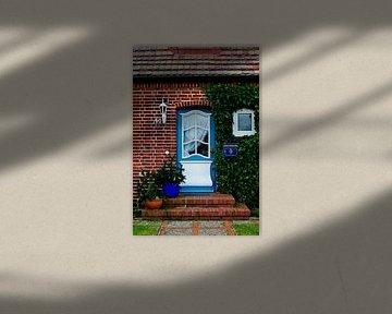Toegangsdeur op Sylt 2 van Norbert Sülzner