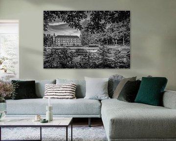 Breda - Schloss von Breda - KMA - Schwarz und Weiß von I Love Breda