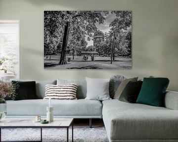 Breda - Park Valkenberg - Zwart Wit von I Love Breda