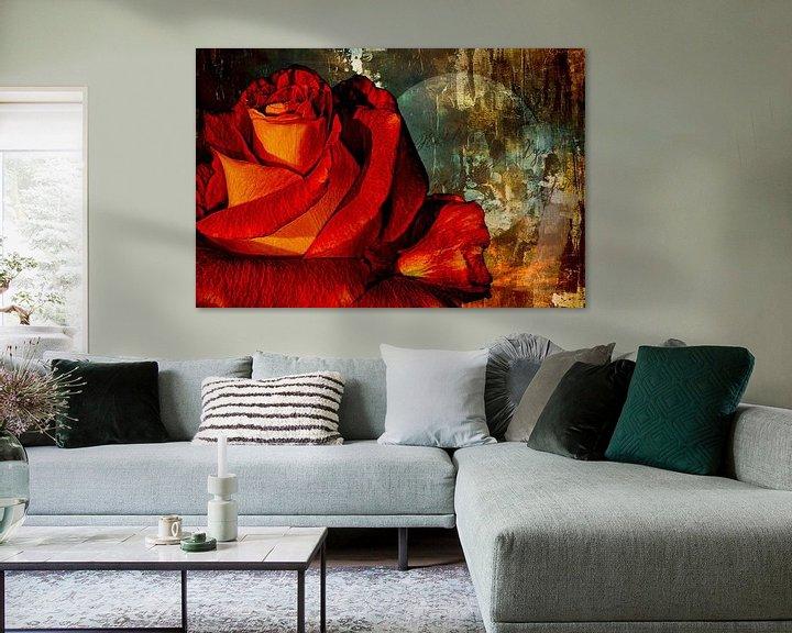 Impression: Une rose pour l'amour sur Max Steinwald