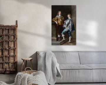 Lord John Stuart und sein Bruder, Lord Bernard Stuart, Anthony van Dyck