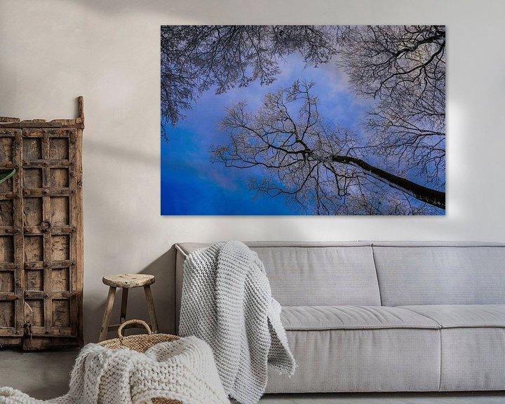 Sfeerimpressie: blauwe hemel van Anna Heisig