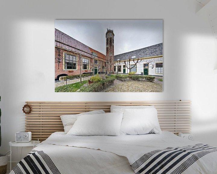 Sfeerimpressie: Hof van Sonoy, Alkmaar van Mike Bing