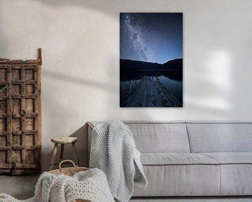 Milchstrasse am Lake Rotoiti, NZ South Island von Pascal Sigrist - Landscape Photography