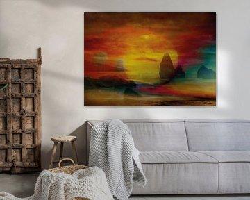 Sonnenuntergang am Meer von Andreas Schulte