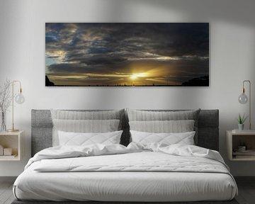 Coucher de soleil à San Juan del Sur sur Stefan Havadi-Nagy