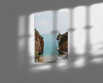 Marina di Praia | Fotodruck Amalfiküste Italien von sonja koning
