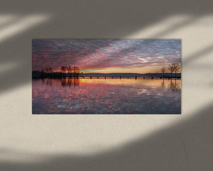 Sfeerimpressie: De Plas Panorama 1 van Nuance Beeld