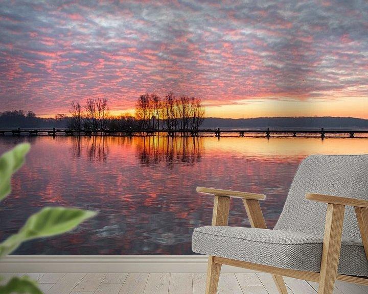 Sfeerimpressie behang: De Plas Panorama 3 van Nuance Beeld