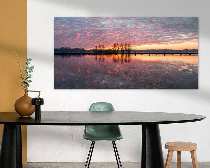 Sfeerimpressie: De Plas Panorama 3 van Nuance Beeld