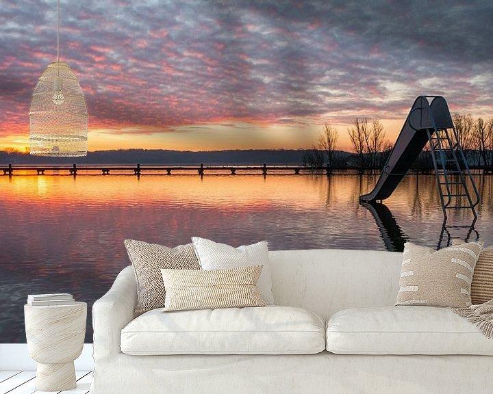 Sfeerimpressie behang: De Glijbaan Panorama 2 van Nuance Beeld