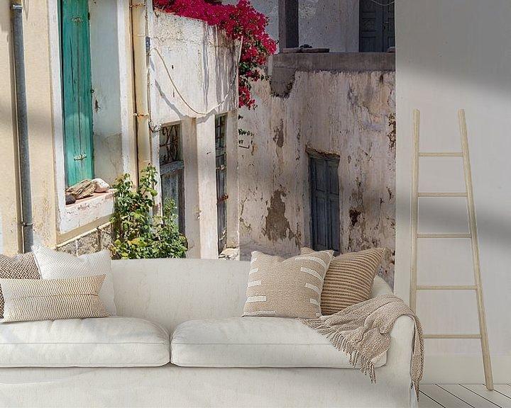 Impression: Village sur l'île grecque de Naxos, en Grèce. sur Eyesmile Photography