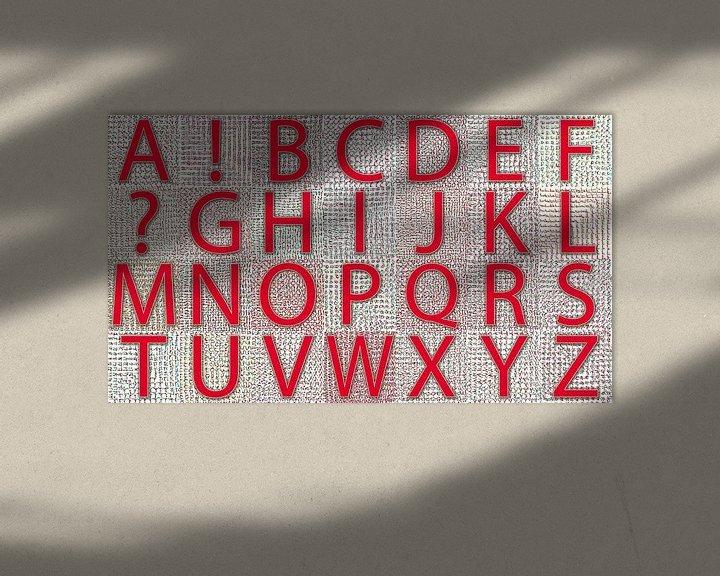 Beispiel: Alphabet No.09 Sommer von Leopold Brix