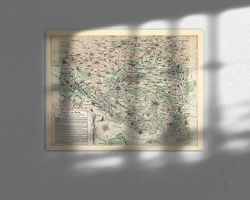 Baronnie de Breda vers 1625 sur Gert Hilbink