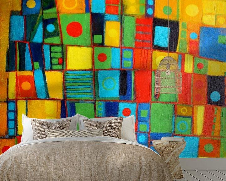 Beispiel fototapete: Farbspiel Nr.2 von Claudia Neubauer