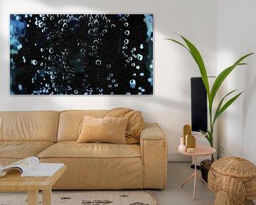 Abstrakt - Blasen von Schildersatelier van der Ven