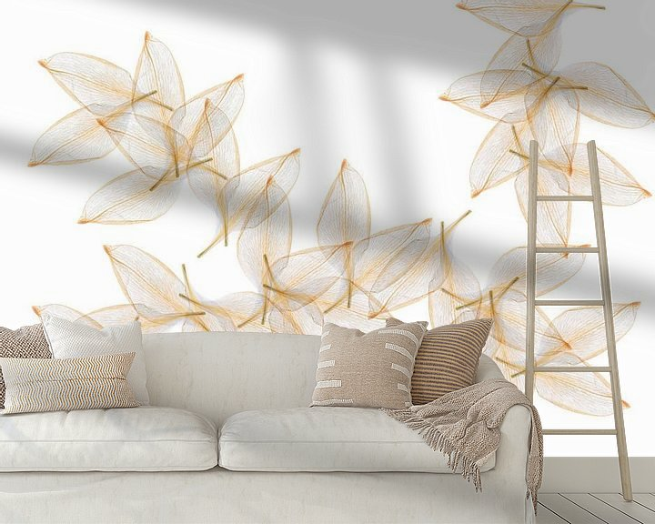 Beispiel fototapete: Blätter von Klaartje Majoor