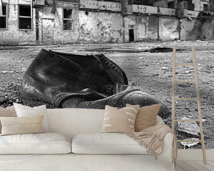 Impression: Vieille chaussure oubliée sur Frank Herrmann