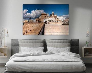Cádiz Spanje Havenstad aan de Costa de la Luz van Marianne van der Zee