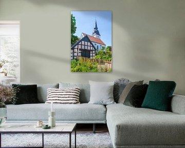 Kirche, Stemwede-Levern, Gemeinde Stemwede, Nordrhein-Westfalen, Deutschland, Europa