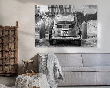 Fiat 500 in Italien. von Ron van der Stappen
