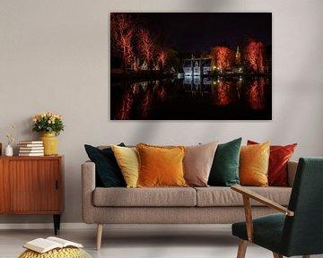 Red Lake of Love van Stefan Bauwens Photography