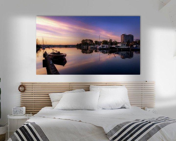 Sfeerimpressie: Kralingse plas haven van Prachtig Rotterdam