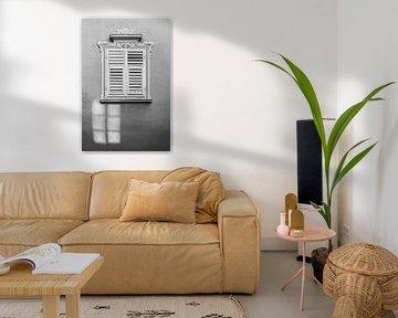 Fenster in Meran (schwarz-weiß) von flo.to.grafie
