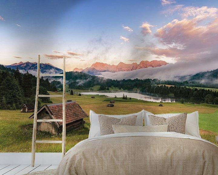 Beispiel fototapete: Alpenpanorama von www.landschaftsfotografin.de von www.landschaftsfotografin.de