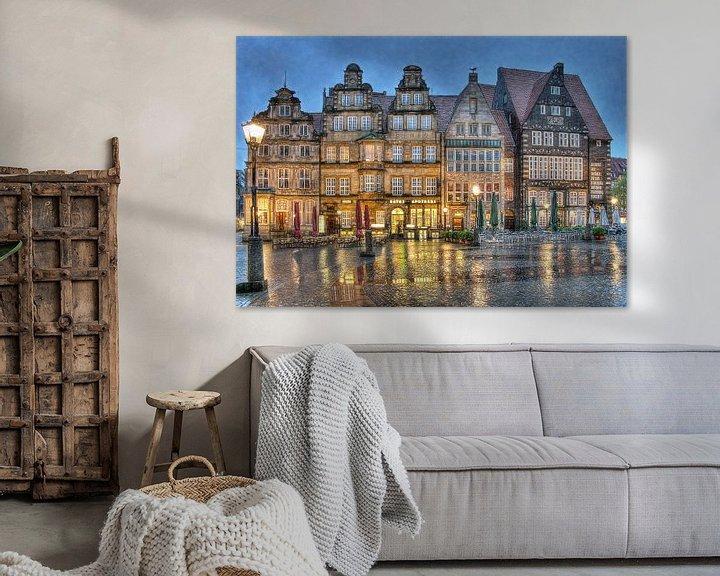 Sfeerimpressie: Grote Markt - Bremen van Mike Bing