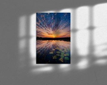 Holländischer Sonnenuntergang von Myrica fotografie