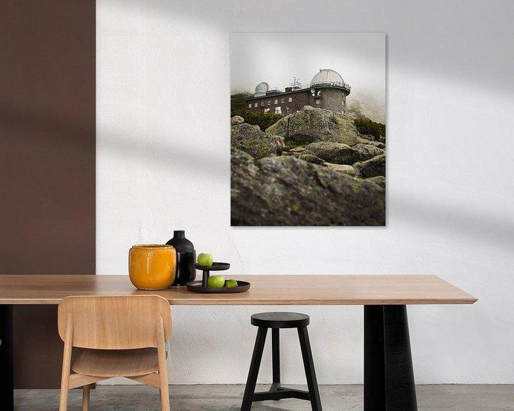 Sfeerimpressie: Observatorium in de bergen van Slowakije van OCEANVOLTA