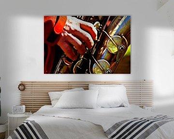 Saxofoon van Norbert Sülzner