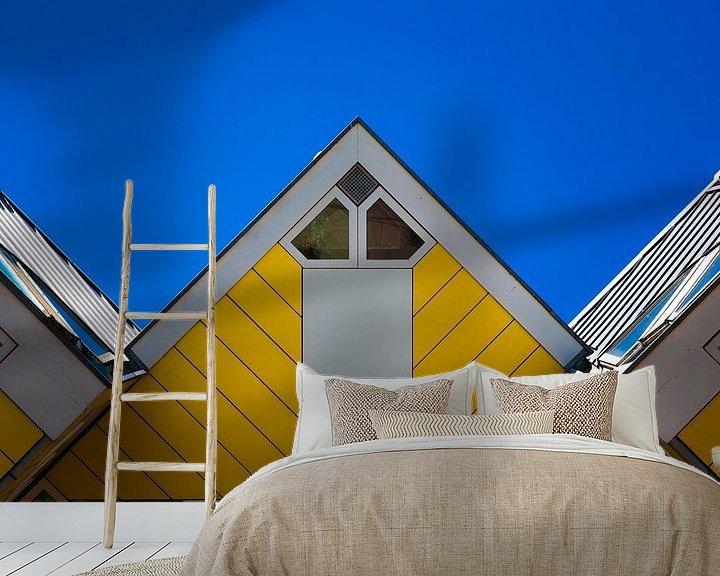 Beispiel fototapete: Würfelhaus Rotterdam von Prachtig Rotterdam