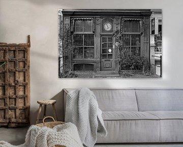 Verlaten pand Geldersekade Amsterdam van Peter Bartelings Photography